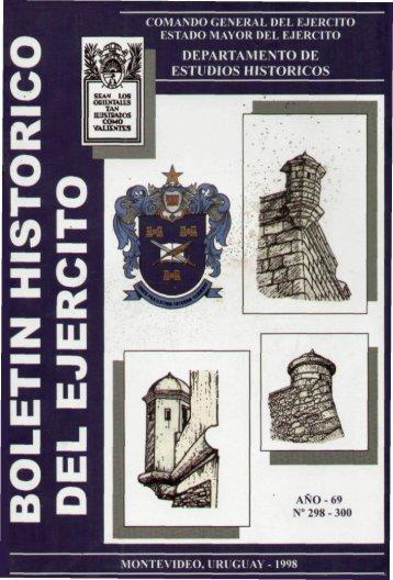 127 Boletín Histórico Nº 298 - 300 - año 1998.pdf - Ejército Nacional