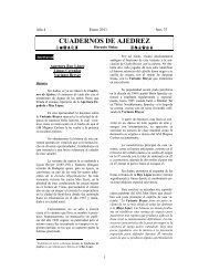 Cuaderno de Ajedrez nº 37 - Tabla de Flandes