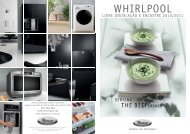 Catálogo Whirlpool - Faça as suas encomendas On-Line. A Electro