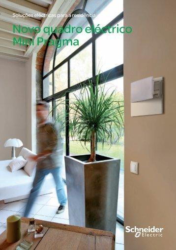 Novo quadro eléctrico Mini Pragma - Schneider Electric