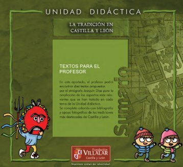 La tradición en Castilla y León - Cortes de Castilla y León