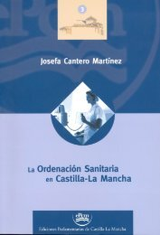 La ordenación sanitaria en Castilla-la Mancha - Cortes de Castilla ...