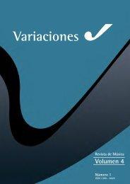 Volumen 4 - Artes - Universidad de Cuenca