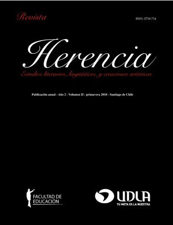 Revista Herencia, vol 2