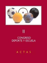 congreso deporte y escuela actas - Diputación Provincial de Cuenca