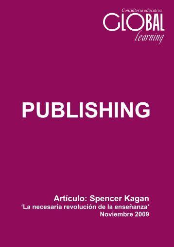 Artículo: Spencer Kagan - Talleres Internacionales de Aprendizaje