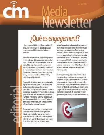 ¿Qué es engagement? - Consejo de Investigación de Medios
