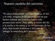 Nuestro modelo del universo