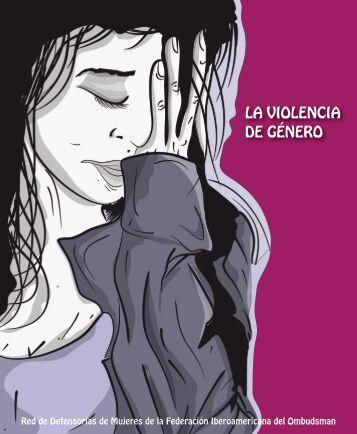 La violencia de género - Federación Iberoamericana del Ombudsman