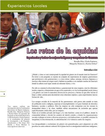 Experiencias Locales - Estado de Guerrero