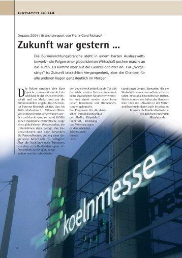 Zukunft war gestern - richarz-kommunikation.de