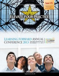learning-forward-2013-annual-conference-program