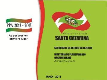 Orientação Técnica DIOR PPA 2012-2015/2011 - Secretaria de ...