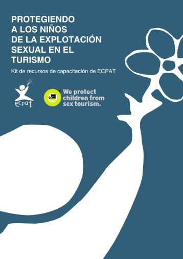 protegiendo a los niños de la explotación sexual en el turismo