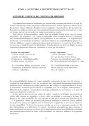 TEMA 5. MUESTREO Y DISTRIBUCIONES MUESTRALES APÉNDICE