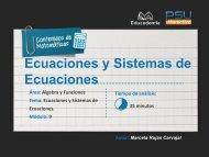 Sistemas de Ecuaciones - PSU Interactivo