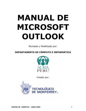 configuración de cuentas de correo en microsoft outlook
