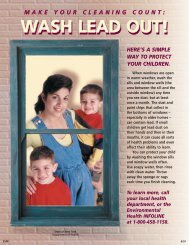 Wash Lead Out! - New York State Department of Health
