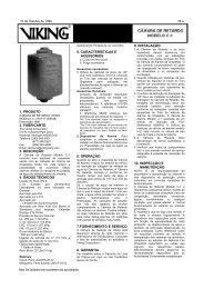 1. produto 2. fabricante 3. descrição 4. dados técnicos 5 ... - Viking