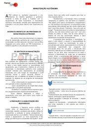 manutenção autônoma desenvolvimento de um ... - Portal TPM