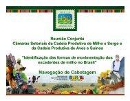 Navegação de Cabotagem - Ministério da Agricultura, Pecuária e ...