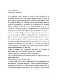 1 Trabajo práctico Nº SISTEMA DEL SAPROBIOS Los ecosistemas ...