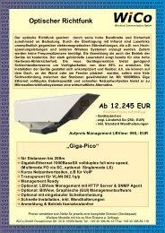 LaserLink GigaPico - Wireless Communication GmbH