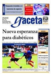 Nueva esperanza para diabéticos - UNAM - Universidad Nacional ...