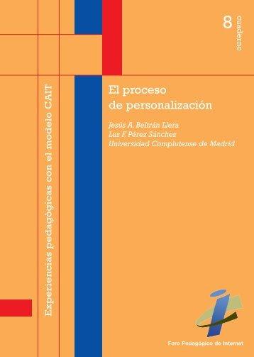 El proceso de personalización - Fundación Encuentro