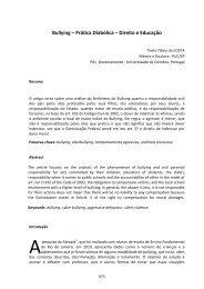 Bullying – Prática Diabólica – Direito e Educação - Auto Editor
