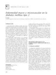 Enfermedad macro y microvascular en la diabetes mellitus tipo 2