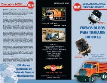 MGM Brakes fue fundada hace casi 50 años por pura necesidad ...