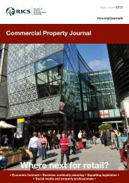 Commercial Property Journal May-June 2012 - RICS