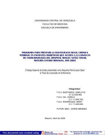HOSPITAL U.C.V.pdf - Saber UCV - Universidad Central de ...