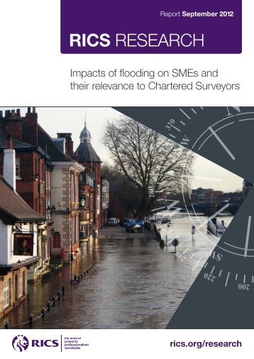 Impacts of flooding on SMEs and their relevance - RICS
