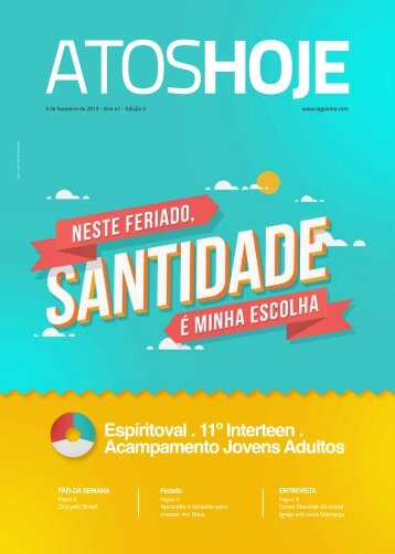 Atos Hoje Edição 5 - Lagoinha.com