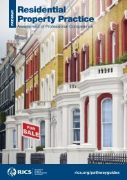 PER Pathway Guide: Residential Property Practice - RICS