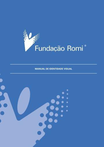 MANUAL DE IDENTIDADE VISUAL - Fundação Romi