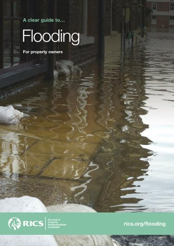 RICS Consumer Guide to Flooding