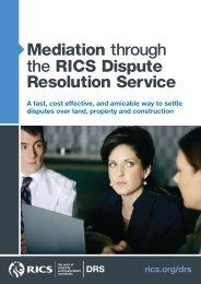 Mediation Brochure - RICS