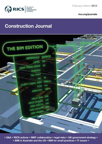 Construction Journal - RICS