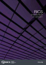 RICS Half Year Corporate Report 2010/2011
