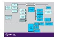 RICS Governance Framework