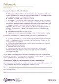Fellowship application form - RICS - Page 2
