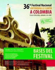 BASES DEL - Asociación Antioquia le Canta a Colombia