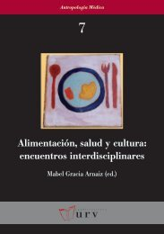 Alimentación salud y cultura - SANHISO C. International health and ...
