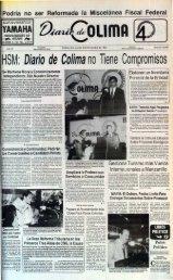8 de Noviembre de 1993 - Universidad de Colima