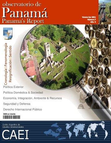 Observatorio de Panamá N° 7 - CAEI