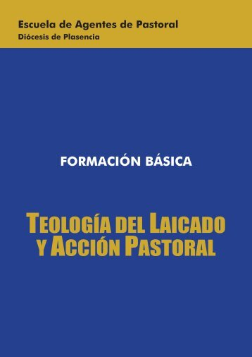 teología del laicado y acción pastoral - Diócesis de Plasencia