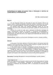 estratégias de ensino aplicadas para a produção e ... - Grupo Opet
